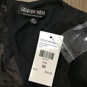 Fashion Nova Other - Fashion nova romper